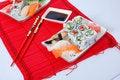 Free Sushi And Maki Royalty Free Stock Image - 7039656