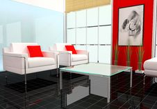 Free Modern Interior Royalty Free Stock Image - 7030046