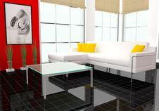 Free Modern Interior Royalty Free Stock Photography - 7030047