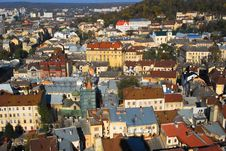 Free Panorama Of Old City Stock Image - 7031131