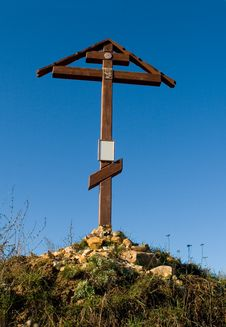 Free Cross On The Hill Royalty Free Stock Image - 7031736