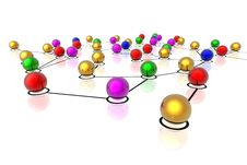 Free 3d Network Connections Stock Photography - 7031762