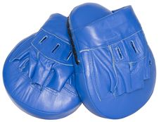 Free Boxing Mitts Stock Photography - 7032972