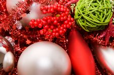 Free Xmas Decoration Ornaments Stock Photography - 7033212