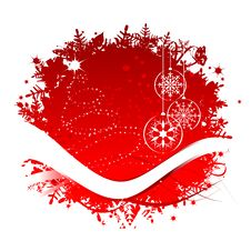 Christmas Frame For Your Design Royalty Free Stock Photo