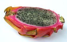 Free Exotic Fruit Pitahaya On A White Background Royalty Free Stock Photo - 7033675