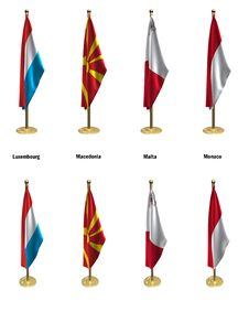 Free Conference Flags Royalty Free Stock Photos - 7034218