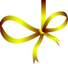 Free Gold Ribbon Stock Image - 7034221