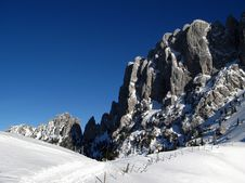 Free Gastlosen Mountain Range In Winter 06, Switzerland Royalty Free Stock Images - 7034229