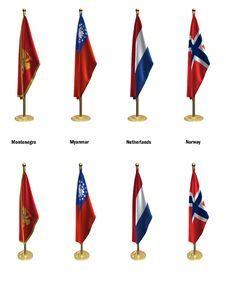 Free Conference Flags Stock Photos - 7034323