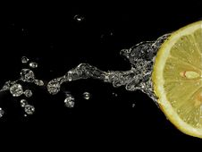 Free Lemon; Water Royalty Free Stock Photos - 7034768