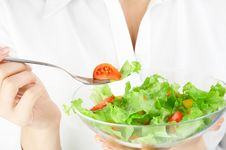 Free Vegetarian Salad Stock Photography - 7034952