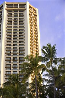 Free Waikiki Highrise Stock Photo - 7034980