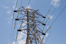 Free Power Transmission Tower Stock Images - 7035084