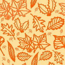 Free Autumn Background Stock Image - 7035411