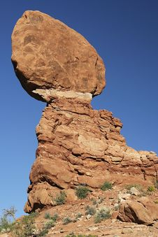 Free Balanced Rock, Arches NP, Utah Stock Photos - 7035793