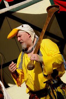 Free Frolicking Bird Man Stock Images - 7035984