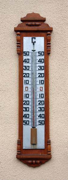 Free Thermometer Royalty Free Stock Image - 7036116