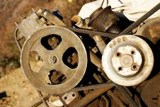 Free Rusty Motor Stock Photos - 7036213