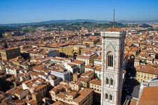 Panorama Of Florence, Italy Stock Photography