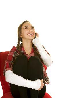 Free Chatty Teen Stock Image - 7036651