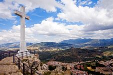 Free Cruz Del Castillo De Santa Catalina Royalty Free Stock Photo - 7037015