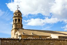 Beautiful Famous Belfry Of Cathedral Baeza