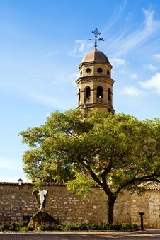 Free Beautiful Famous Belfry Of Cathedral Baeza Stock Photo - 7037040