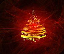 Free Glamour Christmas Tree Stock Photography - 7037092