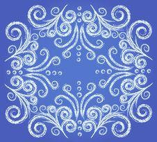 Free Frozen Window Pattern Royalty Free Stock Photos - 7037308