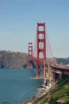 Free Golden Gate Bridge Stock Photography - 7037352