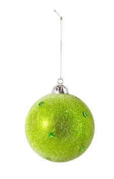 Free Green Christmas Ball Royalty Free Stock Image - 7037546