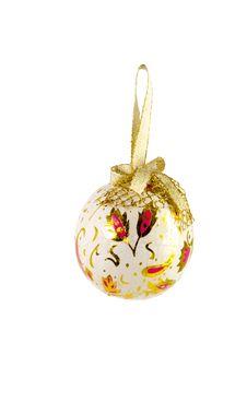 One Christmas Ball Royalty Free Stock Image
