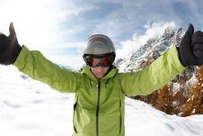 Free Skier Stock Image - 7037631