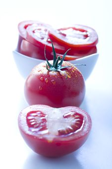 Free Fresh Tomatoes Royalty Free Stock Images - 7037929
