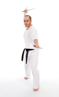 Free Martial Arts Royalty Free Stock Photo - 7038125