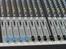 Free Sound Mixer Console Stock Photos - 7038213