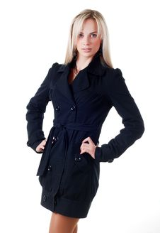 Free Young Woman In Business Suit Stock Photography - 7038342