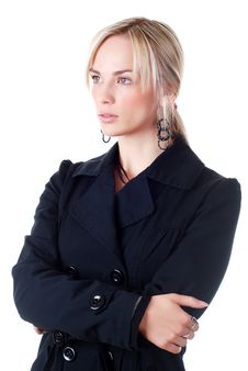 Free Young Woman In Business Suit Royalty Free Stock Photo - 7038345