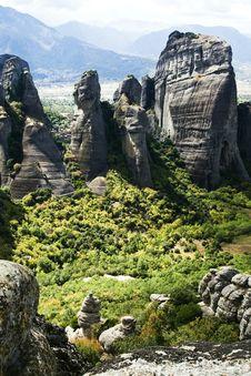 Free Meteora Royalty Free Stock Image - 7038576