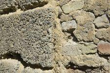 Free Stone Rock Wall 3 Royalty Free Stock Photos - 7039078