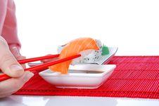 Free Sushi And Maki Royalty Free Stock Photography - 7039417