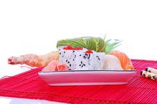 Free Sushi And Maki Royalty Free Stock Photo - 7039435