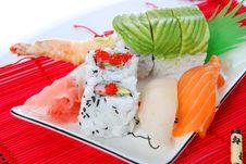 Free Sushi And Maki Stock Images - 7039474