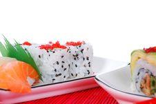 Free Sushi And Maki Royalty Free Stock Image - 7039626