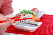 Free Sushi And Maki Stock Photos - 7039643