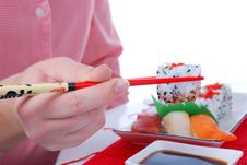 Free Sushi And Maki Royalty Free Stock Images - 7039659