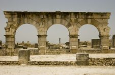 Free Entrance To The Roman Ruins Stock Photography - 7039742