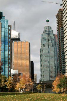 Free Urban Landscape At Autumn Stock Photo - 7039970
