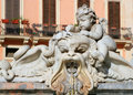 Free Rome - Detail From Fountain Royalty Free Stock Photography - 7046727